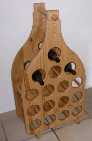Credenza bottigliera su misura in legno fabbrica di zona giorno su misura a roma - Oggetti di design in legno ...