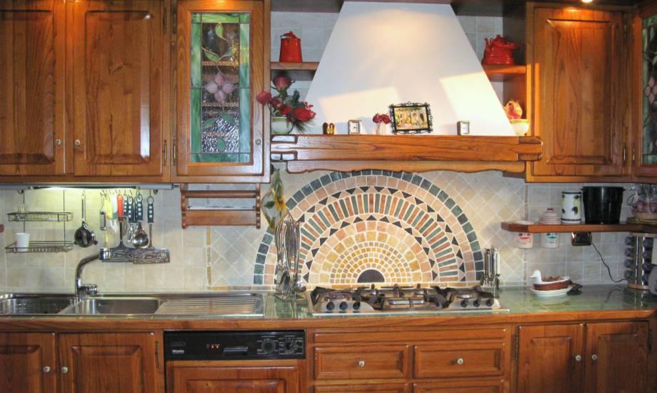 Cucina classica artigianale miele Michele design esclusivo in legno ...